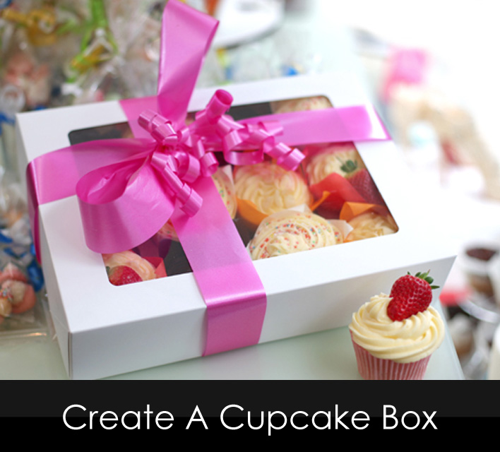 Design Your Own Cake Box : Cupcakes/Cake Pops By 3D Cakes