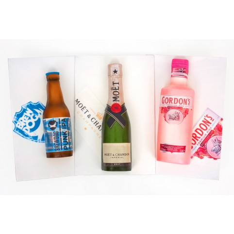 Drinks Bottle Cake Voucher
