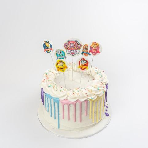Kid's Colour Drip Party Cake Voucher