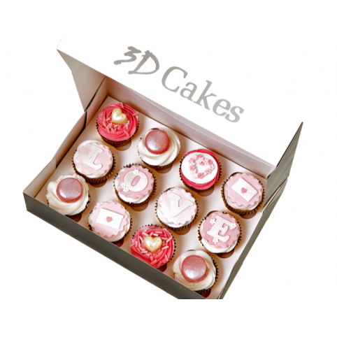 12 MOTHER'S DAY CUPCAKES