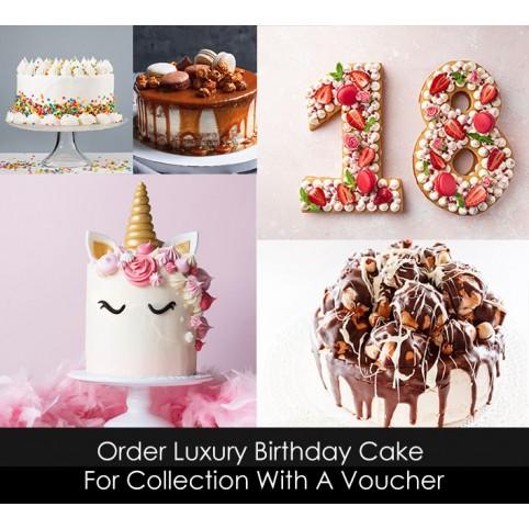 Luxury Birthday Cake Voucher