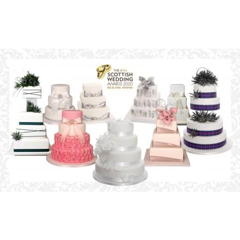 Choice of 16 Wedding Cake Voucher