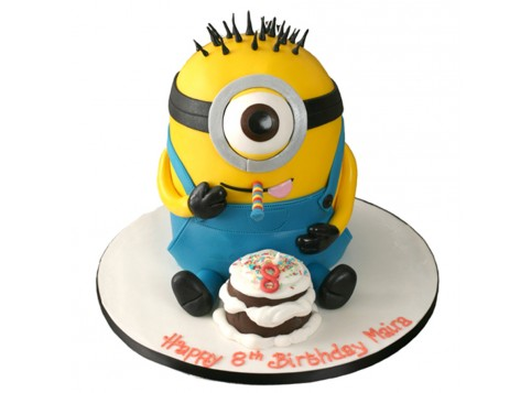 PARTY MINION By 3D Cakes