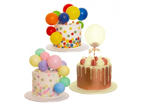 Astonishing Balloon Party Cake Voucher By 3D Cakes Personalised Birthday Cards Paralily Jamesorg