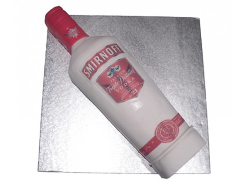 Awesome Smirnoff Vodka By 3D Cakes Funny Birthday Cards Online Inifofree Goldxyz