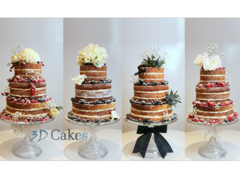 Naked Wedding Cake Voucher