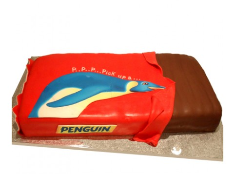 PENGUIN BISCUIT By 3D Cakes