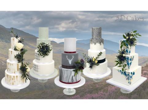 Scottish Wedding Cake Voucher