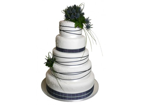wedding cake deals scotland thistle fresh by 3d cakes 22356