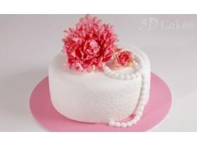 BEAUTIFUL VINTAGE BIRTHDAY CAKE