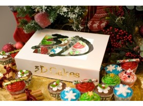 LUXURY CHRISTMAS CUPCAKES
