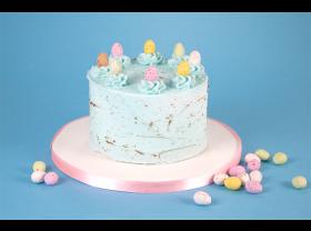 """MINI EGG"" THEME EASTER CAKE"
