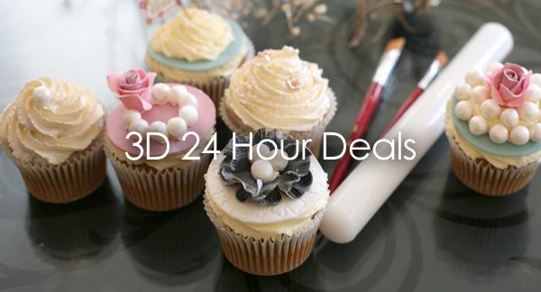 3D 24 Hour Deals Contact Cakes